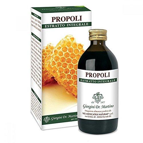 Dr. Giorgini Integratore Alimentare, Propoli Estratto Integrale Liquido Analcoolico - 200 ml