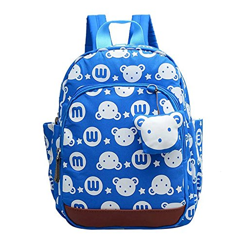 Naerde orso animali carino zaino bella zaino libro zaino bambini Baby Girls scuola borsa bule
