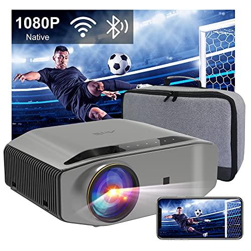 Proiettore Wifi Bluetooth Videoproiettore Artlii Energen2 Proiettore Full HD 1080P Nativo Supporta 4K 340 ANSI Proiettore Per Smartphone 300  Home Theater per iOS, Android, PPT, PS4,5