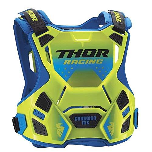 Thor Guardian MX Roost Deflector Motocross Brustpanzer Spring 2018 - Flou grün blau