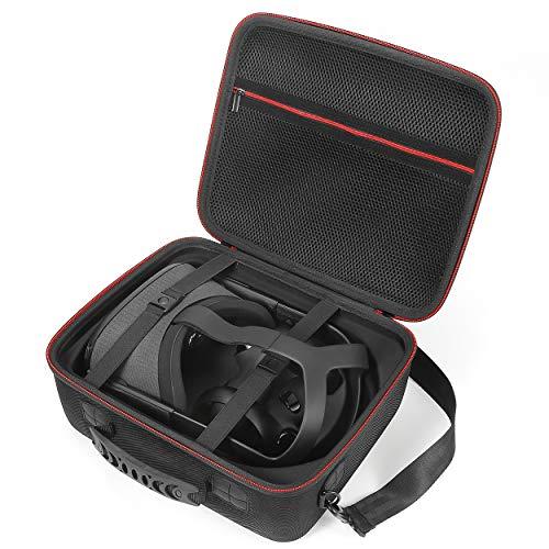 Hard Tragen Case für Oculus Quest All-in-One VR Gaming Headset und Zubehör, schützende Aufbewahrungstasche.