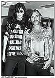 MOTÖRHEAD & RAMONES Poster Lemmy Kilmister & Joey Ramone