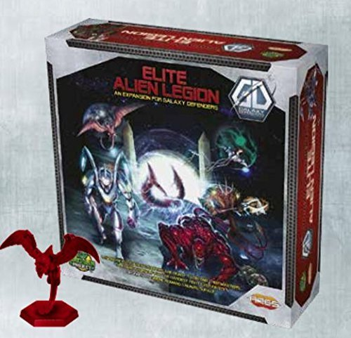 Ares Games Galaxy Defenders Expansion Elite Alien Legion