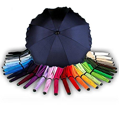 BAMBINIWELT Sonnenschirm für Kinderwagen Ø68cm UV-Schutz50+ Schirm Sonnensegel Sonnenschutz (Marineblau)
