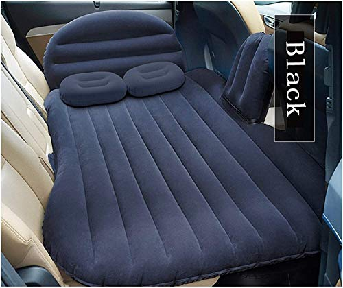 LYYJIAJU Car Mattress SUV Inflatable Multifunctional Inflatable Bed Travel Automatic Air Mattress Foldable Fit Special Seat Bed Multi Colors Functional Travel Goods (Size : Black)