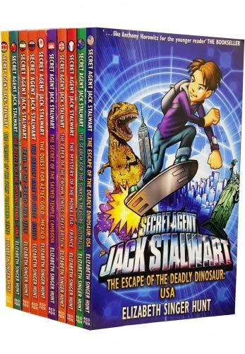 Preisvergleich Produktbild Secret Agent Jack Stalwart 10 books collection(Australia,  Great Britain,  USA, ...