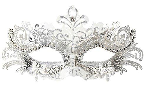 Mascaras Venecianas,Coofit Mascaras Carnaval Metal Laser-