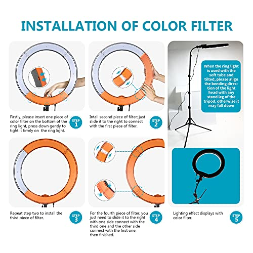 Selfie Time! How to use an LED Ring Light for perfect pictures 8