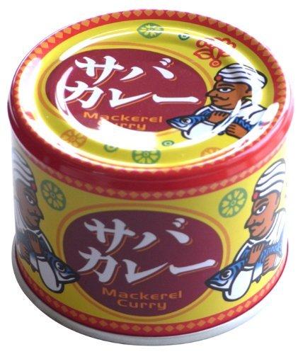 信田缶詰 サバカレー190gの写真