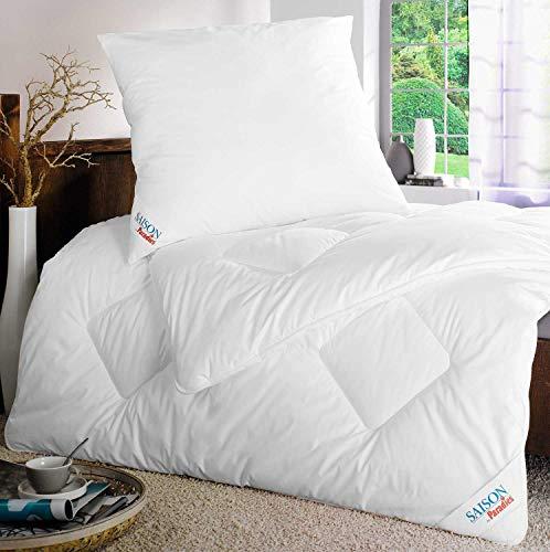 Möbel Jack Steppbett Bettdecke Steppdecke | 135x200 cm | Weiß | Baumwolle