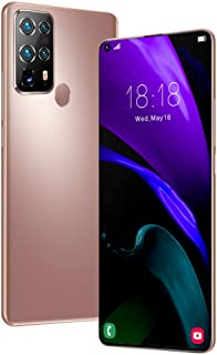 """S40U Unlocked Cell Phones(8GB+128GB) 7.2"""" HD, 5800mAh 4G Smartphone with 24MP+48MP Camera, Android 10 and Dual SIM,Gold"""
