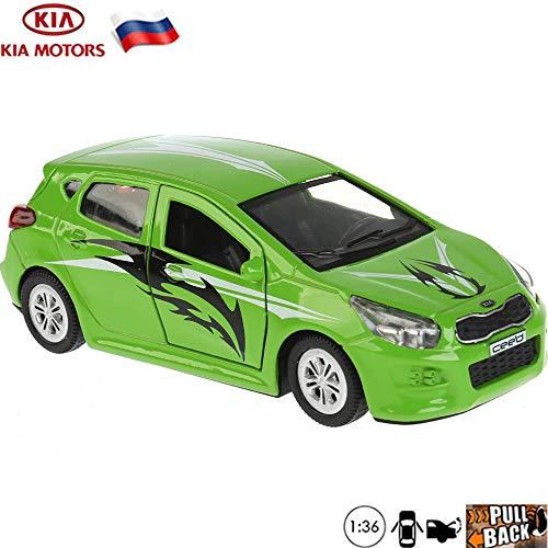 1:36 Scale Diecast Metal Model Car Kia Ceed Sport Russian Die-cast Toy Cars -  Russian Toys, CEED-SPORT
