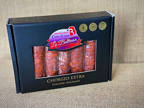Chorizo extra / Embutido / Dulce / Envasado al vacío / Sin lactosa ni gluten / Gourmet / La Baltrasa