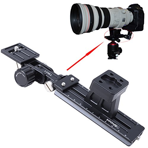 iShoot Lens Ondersteuning Kraag Voet Statief Mount Ring Stand Base + Camera Quick Release Plaat + Telefoon Lens Bracket voor Canon EF 800mm f/5.6L IS USM, EF 200-400mm f/4L IS USM EXTENDER 1.4X