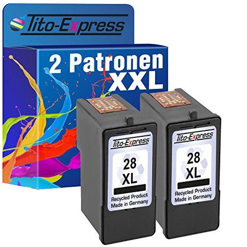 2Cartuchos para Lexmark 28XL Black Z1300Z1310Z1320Z1350Z845platinumserie