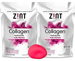 ✦ GLOWY SKIN, HEALTHY HAIR: Zint Collagen Peptides powder is a pure anti-aging protein vital for replenishing your body's declining collagen supply, rejuvenating your skin, hair, nails and joints for natural beauty and youthfulness. It also nourishes...