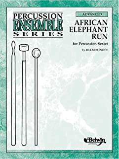African Elephant Run: For Percussion Sextet, Conductor Score & Parts (Percussion Ensemble)