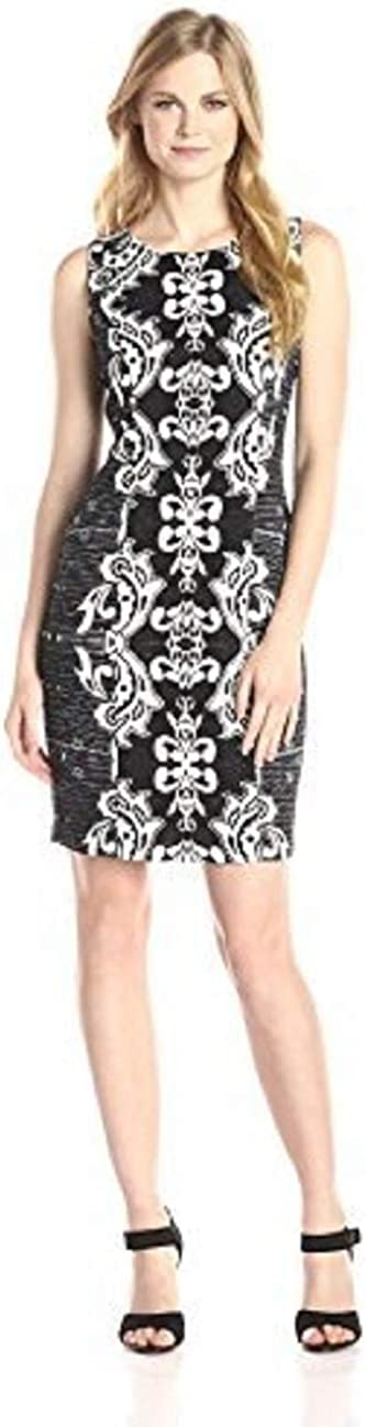 NYDJ Women's Candice Textured-Printed Dress