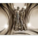 murando - Fototapete Abstrakt 400x280 cm - Vlies Tapete - Moderne Wanddeko - Design Tapete - Wandtapete - Wand Dekoration - Steinfiguren Steine h-A-0014-a-c
