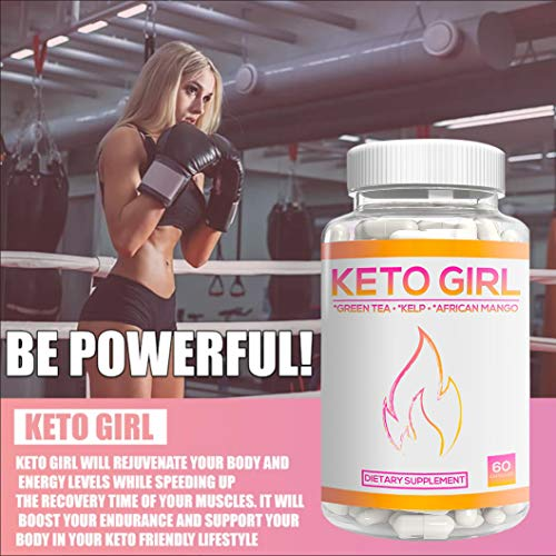 Keto Girl Diet Capsules – 1200 mg Keto Boost Pills for Women, Shark Tank Formula 10X Advanced Weight Loss w/Green Tea, Apple Cider Vinegar, Kelp to Burn Fat, Boost Energy, Enhance Focus 60 Cap 4