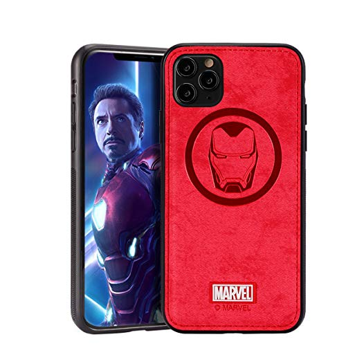 Case for iPhone 12 Pro Max with Avengers Character - Iron Man, Red
