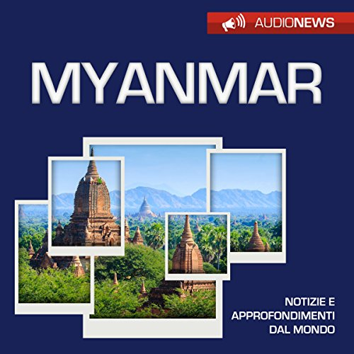 Myanmar audiobook cover art