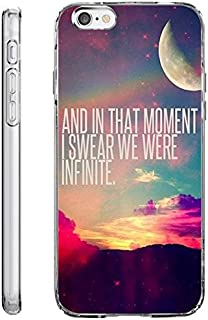 Case for iPhone 6S TPU Bumper for iPhone 6 / 6s And in That Moment I Swear We were Infinite
