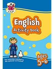 New English Activity Book for Ages 5-6: Perfect for Catch-Up and Home Learning