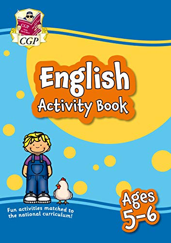 New English Activity Book for Ages 5-6: perfect for home learning