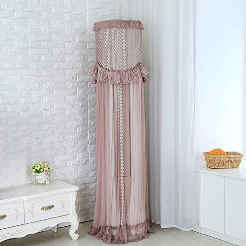BANGSUN 1pc Interior Aire Acondicionado Cubierta Protectora Polvo Cilíndrico Protección Artesanías Color Rosa