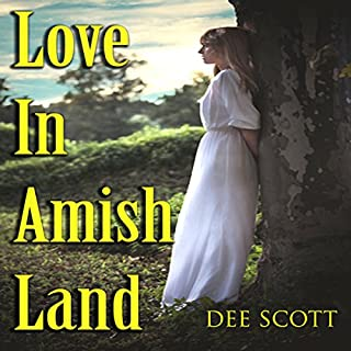 Love in Amish Land audiobook cover art