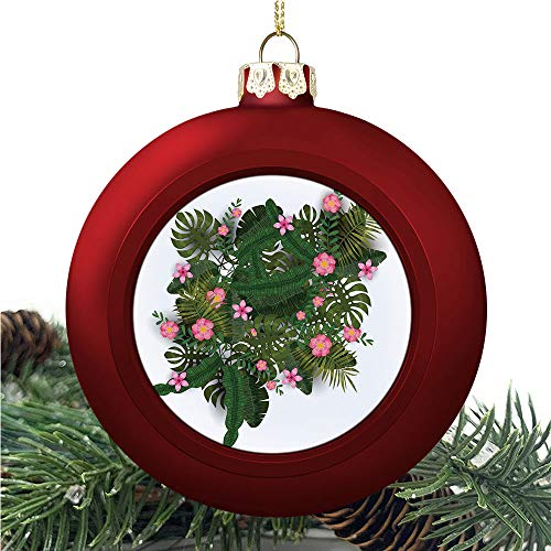 aosup Tropical Party Exotic/Christmas Ball Ornaments 2020 Christmas Pendant Personalized Creative Christmas Decorative Hanging Ornaments Christmas Tree Ornament №AM031990