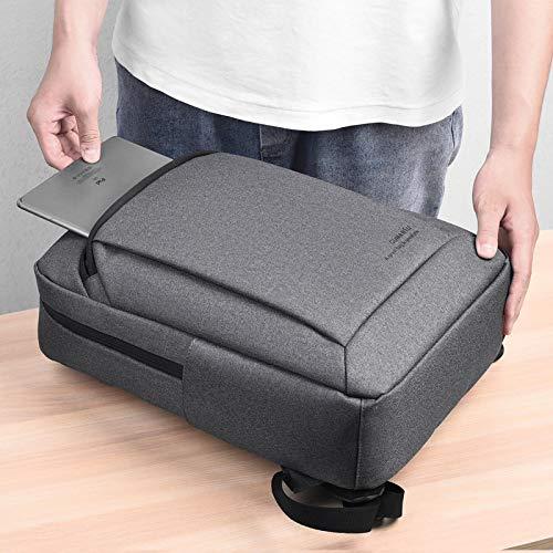 Laptop Bag Backpack Laptop Men/Man Backpack 15.6 Inch Fashion Waterprof Backpack Bag Back Pack Boy Shool Big Daypack Male Darkgray Free Fast Delivery