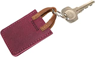 Hide & Drink, Leather Tiny Handbag Keychain, Key Ring Holder, Mini Purse, Cute Gifts, Accessories, Handmade Includes 101 Year Warranty :: Sangria