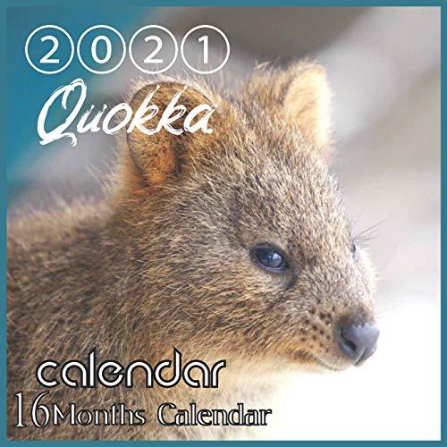 Quokka Calendar 2021: Quokka Australian Animal