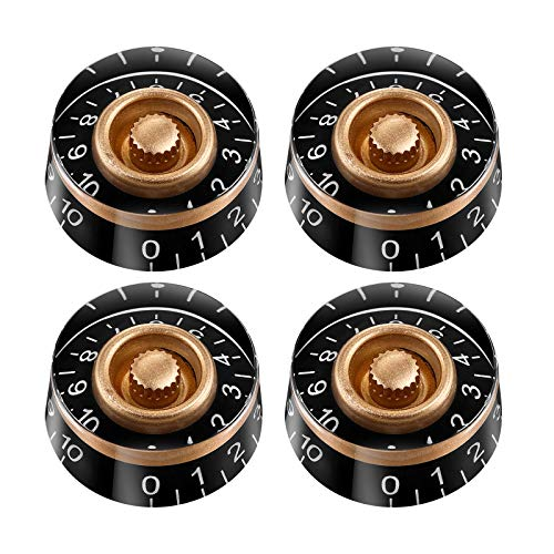 OULII Speed Control Knob with White Word for Electric Guitar 4pcs thumbnail image