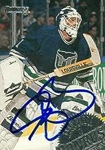 Autograph Warehouse 66907 Sean Burke Autographed Hockey Card Hartford Whalers 1994 Donruss No. 158