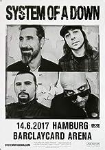 System of A Down - Toxicity, Hamburg 2017 » Konzertplakat/P
