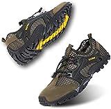 Rokiemen Scarpe da Trekking Arrampicata Uomo Sandali Sportivi Estivi Mesh All'aperto Pescatore Piscina Acqua Mare Escursionismo Leggero Sneakers
