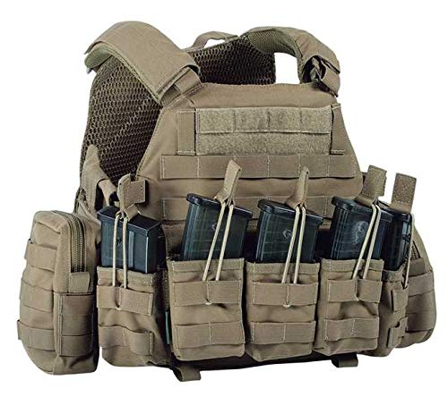 Warrior DCS G36 Plate Carrier Coyote, M, Coyote