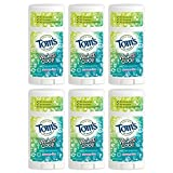 Tom's of Maine Aluminum-Free Natural Wicked Cool Teen Boys Deodorant, Natural Deodorant, Deodorants, Freestyle, 2.25 Ounce, 6-Pack
