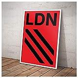 London City Series Modernistisches geometrisches