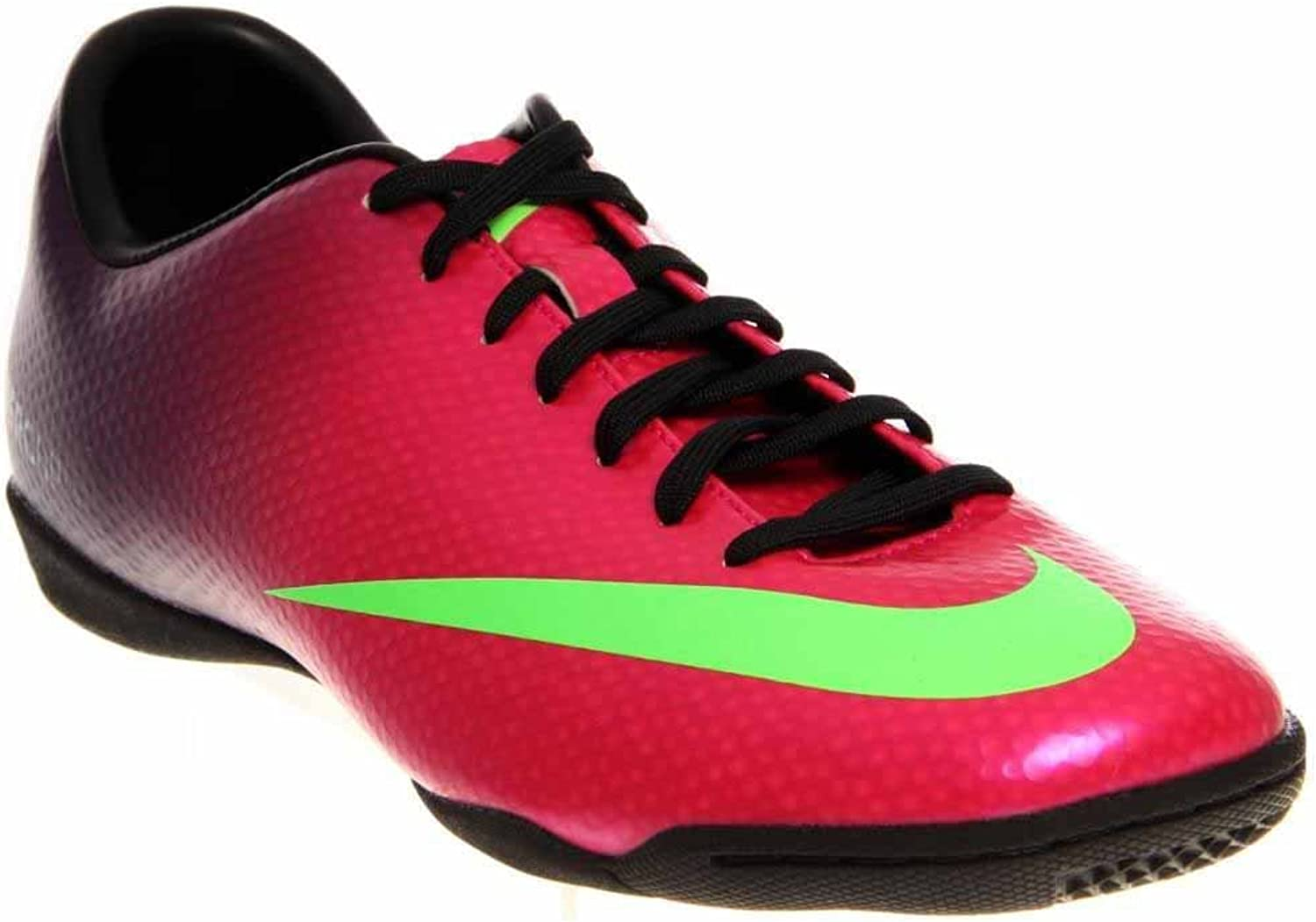 Mercurial Victory IV IC Football Trainers Fireberry Purple Electric Green
