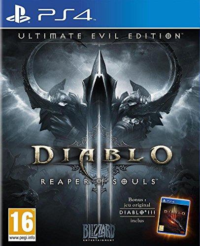 Blizzard Diablo III: Ultimate Evil Edition, PS4 Básico + complemento PlayStation 4 vídeo - Juego (PS4, PlayStation 4, Acción / RPG, Modo multijugador, M (Maduro))