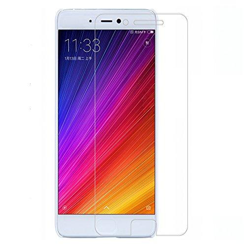 [2 Packs] Xiaomi Mi 5s Screen Protector, Xiaomi Mi 5s Tempered Glass Screen Protector, Anti-Scratch HD Screen Protector for 5.15'' Xiaomi Mi 5s [Not fit Xiaomi Mi 5 / Xiaomi Mi 5s Plus]