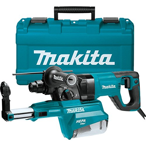 Makita HR2661 1' AVT Rotary Hammer, Accepts Sds-Plus Bits, w/Hepa Dust Extractor (D-Handle)