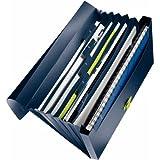 Leitz classeur ménager à soufflet re:cycle, 100% recyclé, bleu/vert, 250 feuilles, 46240069