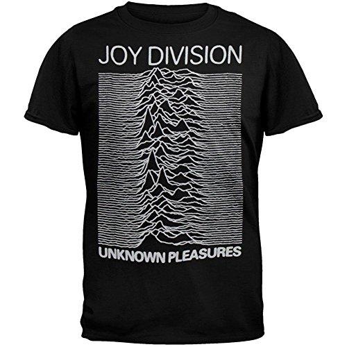 JOYDIVISION Joy Division - Unknown Pleasures T-Shirt Black
