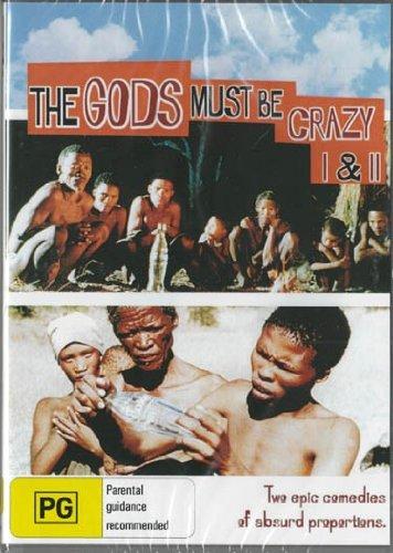 The Gods Must Be Crazy / The Gods Must Be Crazy II - 2-DVD Set ( Miracle World: Bushman / The Gods Must Be Crazy 2 ) [ NON-USA FORMAT, PAL, Reg.0 Import - Australia ]