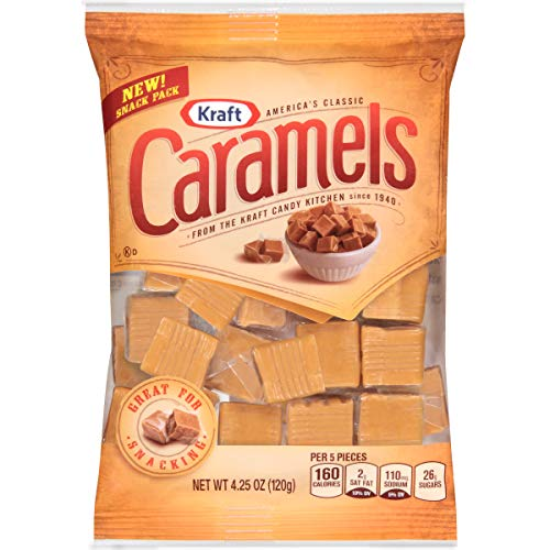 Kraft Vanilla Caramels Individually Wrapped